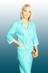 Костюм медицинский женский голубой